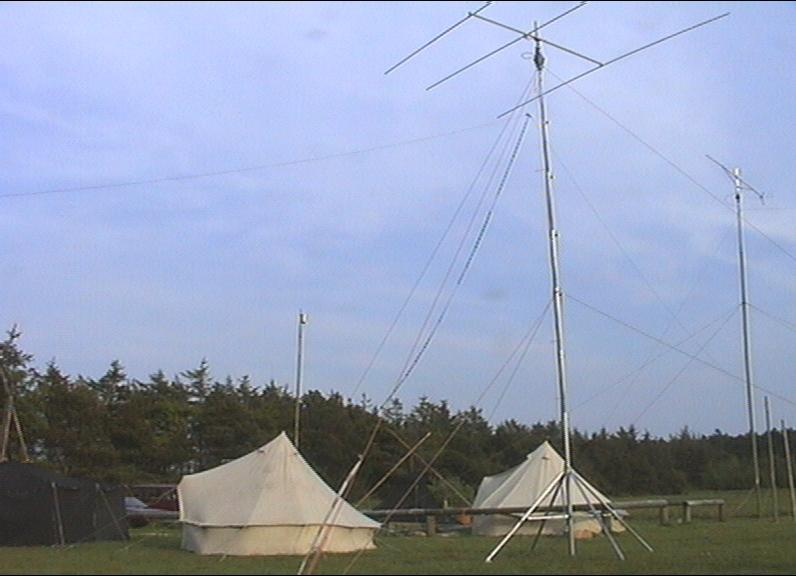 OZ1RDP 1999 Antennen